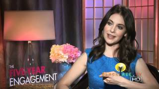 Alison Brie on wedding plans and The Five-Year Engagement