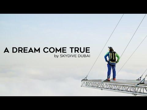 A DREAM COME TRUE BY SKYDIVE DUBAI | Awesome Emirati Films