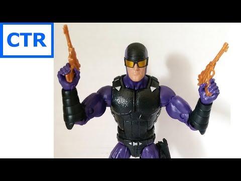 Marvel Legends Paladin Review Sasquatch BAF wave Action Figure comic toy reviews