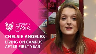 Chelsie Angeles: living on campus