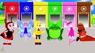 Лунтик цвета на английском для детей