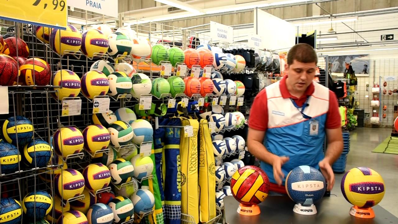 Como escolher a bola ideal Kipsta para o voleibol de praia - Exclusividade  Decathlon 41db2315a0477