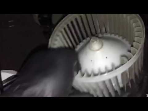 2007 - 2012 Nissan blower motor replacement without removing the dash  (Video 2 of 3)