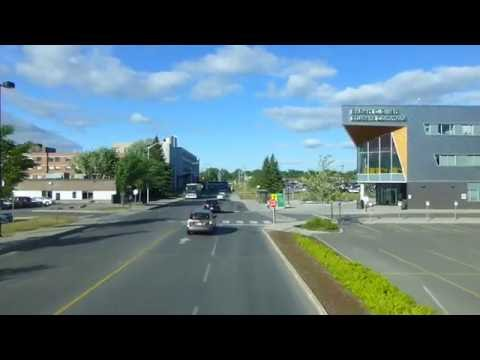 RARE - OC Transpo Double Decker Bus on Route 118 Hurdman - from Baseline to Billings Bridge