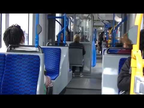 Traveling through Amsterdam by Bus, ferry, metro, tram and w