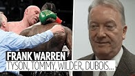 Frank Warren on Tommy Fury, KSI v Logan Paul, Wilder v Fury 2, Yarde, Frampton, Dubois