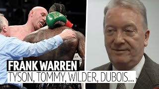 Frank Warren on Tommy Fury, KSI v Logan Paul, Wilder v Fury 2, Yarde, Frampton, Dubois