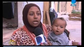 """بالفيديو .. على غرار """"داعش"""".. أب يلقي بطفلته من الطابق الثالث ويضمد جروحها بالإبرة"""