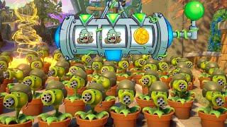 999 GUISANTRALLADORAS VS 2 ZOMBISTEIN   Plants Vs Zombies: Garden Warfare 2