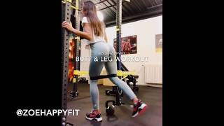 Lower body workout | by Zoehappyfit
