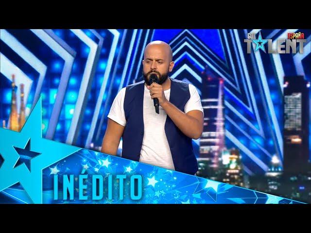 El HOMENAJE AL ESPAÑOL de este cantante con RAPHAEL   Inéditos   Got Talent España 2021