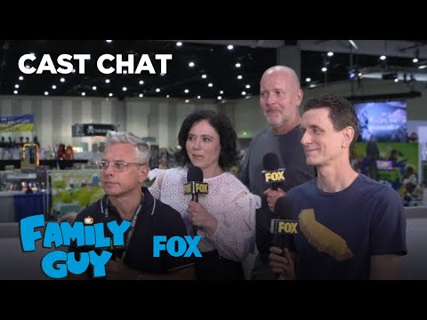 The Cast Of Family Guy At Comic-Con 2018 | FAMILY GUY