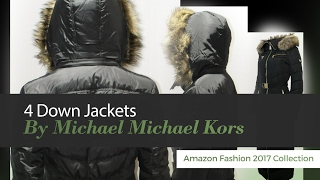 4 Down Jackets By Michael Michael Kors Amazon Fashion 2017 Collection