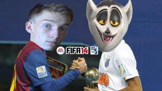 FIFA 14 - Król Julian & KaLi