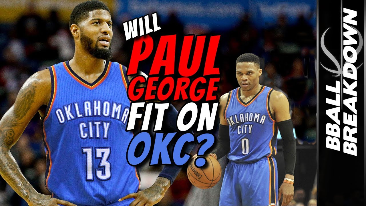 Image result for paul george okc