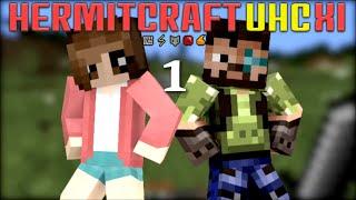 HermitCraft Modded UHC 11 : Episode #1 : Iskall n I : Minecraft 1.10