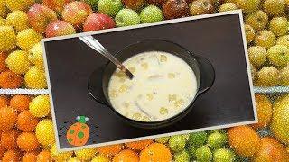 Рецепт №21. Молочный суп с картошкой и грибами