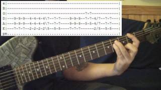 The entire guitar lesson for Come Out and Play (Keep 'em Separated)...