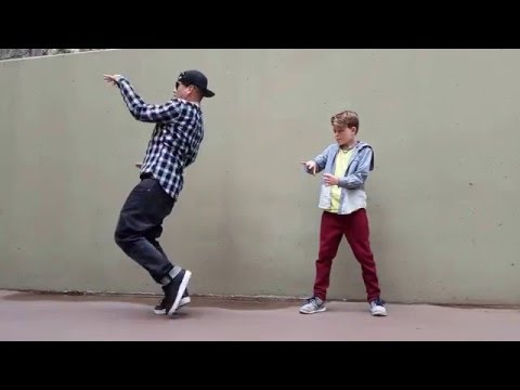Merrick and Poppin John -- Freestyle Popping -- Dancing