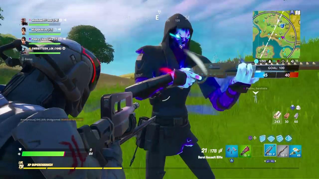 Fortnite triple kill - YouTube