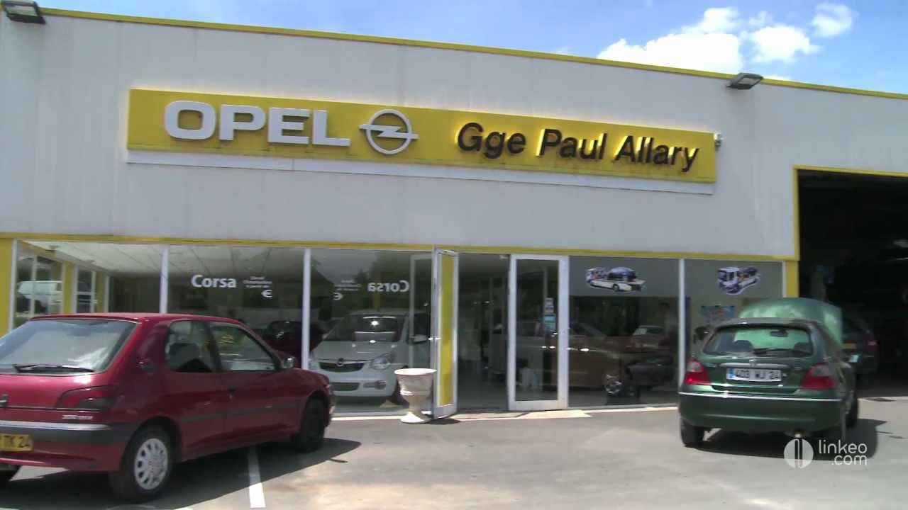 Opel garage allary jerome agent nontron youtube for Garage opel morestel