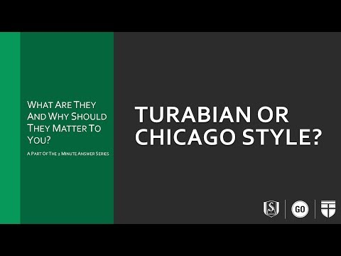Turabian-Chicago Style