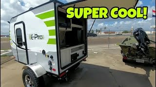 Coolest little Travel Trailer I&#39ve seen! E-Pro! A Bug-Out RV!