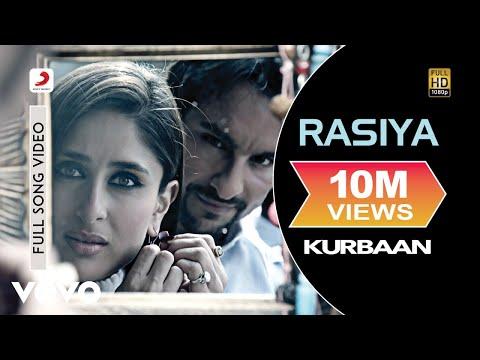 Rasiya Full Video - Kurbaan|Kareena Kapoor, Saif Ali Khan|Shruti Pathak|Salim-Sulaiman