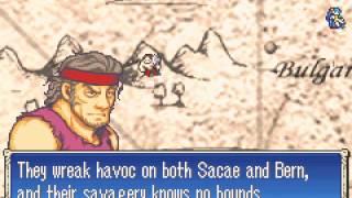 Fire Emblem - Fire Emblem (GBA / Game Boy Advance) - Chapters 2 and 3! - User video