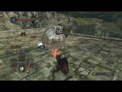 Dark Souls II: SotFS - Pursuer First Encounter