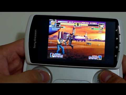 Sony Ericsson Xperia Play Gaming Demo 3