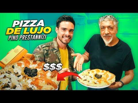 LA PIZZA MAS CARA DEL MUNDO | EL SEÑOR DE LAS PIZZAS PINO PRESTANIZZI