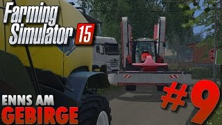 Farming Simulator 15 | Enns Am Gebirge #9 Plateau, DLC New Holland, presse Fendt ...