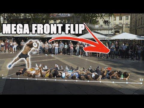 FLIP CHALLENGE : réaliser le plus LONG Frontflip  (ft Rémi Girard & Farid Zitoun)
