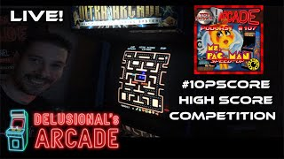 Ms. Pac-man (speed-up hack) #10PScore Live stream