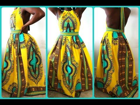 diy-high-neck-dashiki-print-dress|-how-to-sew-a-zipper-for-super-beginners.