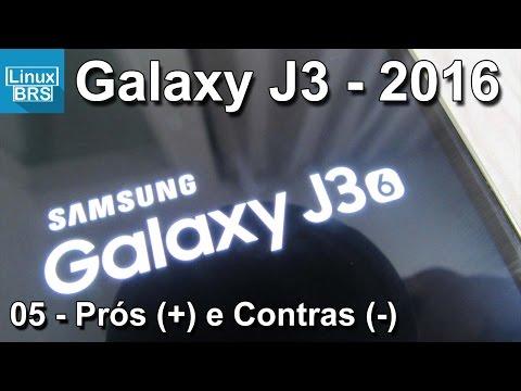 Samsung Galaxy J3 2016 - Prós e Contras (minha opinião) - Português
