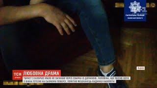 У Львові турист заснув на підвіконні сьомого поверху готелю, бо посварився з дівчиною