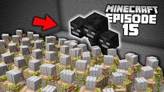 100 IRON GOLEMS vs WITHER (in survival minecraft...)