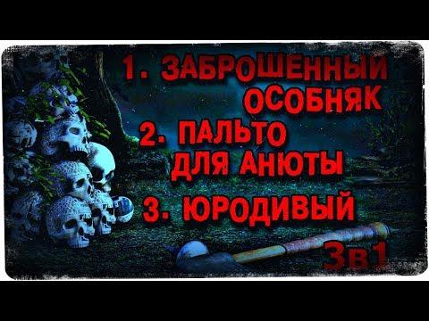 Истории на ночь (3в1): 1.Заброшенный особняк, 2.Пальто для Анюты, 3.Юродивый