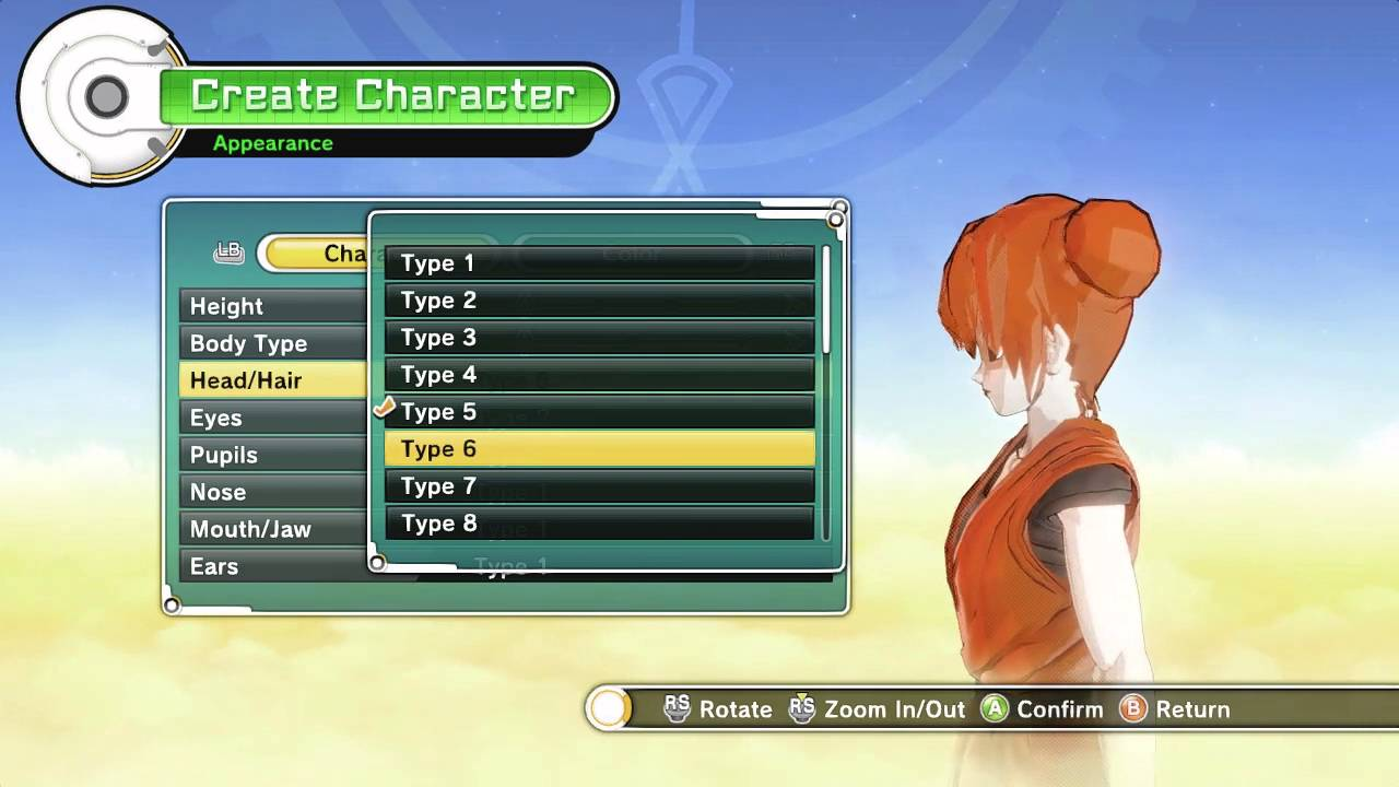 Hairstyles Xenoverse: Plots Female Hair Pack For Dragonball Xenoverse