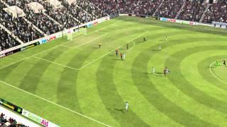 Genoa vs Napoli - Doelpunt Cavani 63e minute