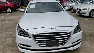 2015 Hyundai Genesis Used Car Houston, TX Chase Motor Finance