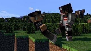 Wieso spielt er so?!?!?! Minecraft Skywars
