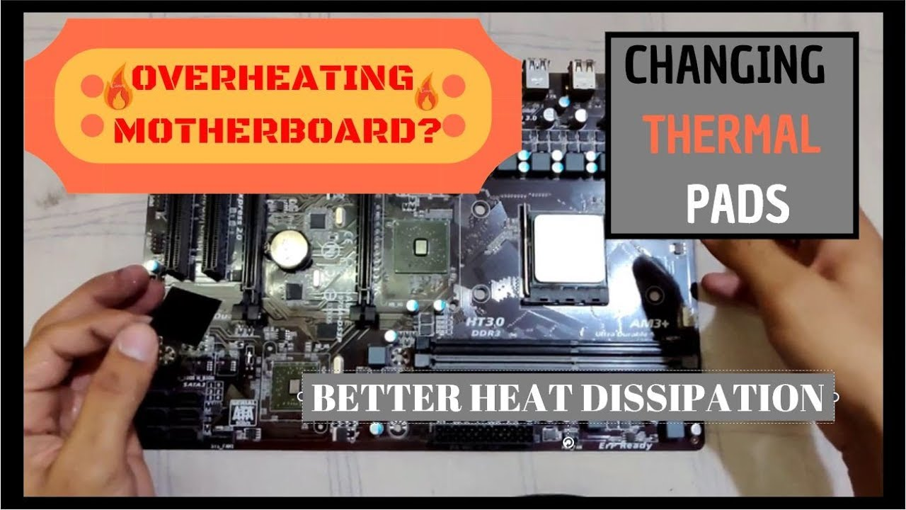 Overheating Motherboard? Here's how to fix it | Fixing over heat up of  motherboard