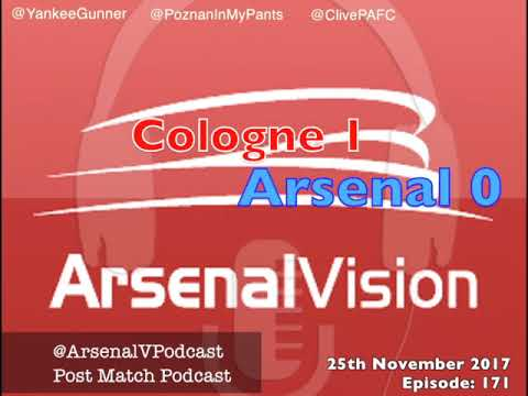 Arsenal Vision Post Match Podcast - EP171: Cologne (a) - Juicing Up The January Window