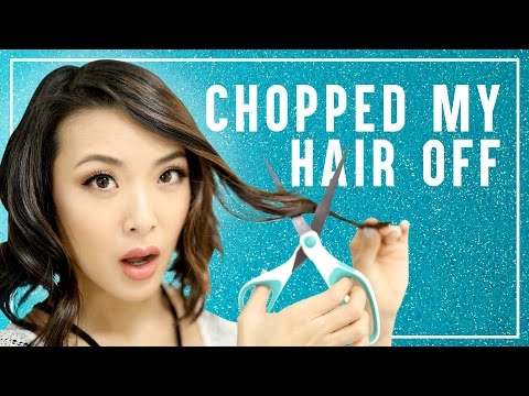 I CHOPPED MY HAIR OFF || From Head To Toe