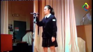 2012-2013 堅樂中學歌唱比賽粵語合唱冠軍 4C班 蘇肇嵐 6C班何嘉敏