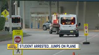 Student pilot causes lockdown at Orlando Melbourne International Airport after trying to access jet