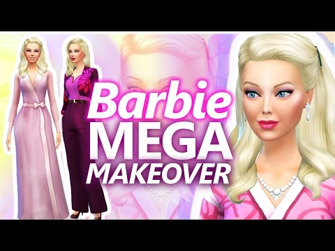 MEGA BARBIE MAKEOVER  [ The Sims 4 ]